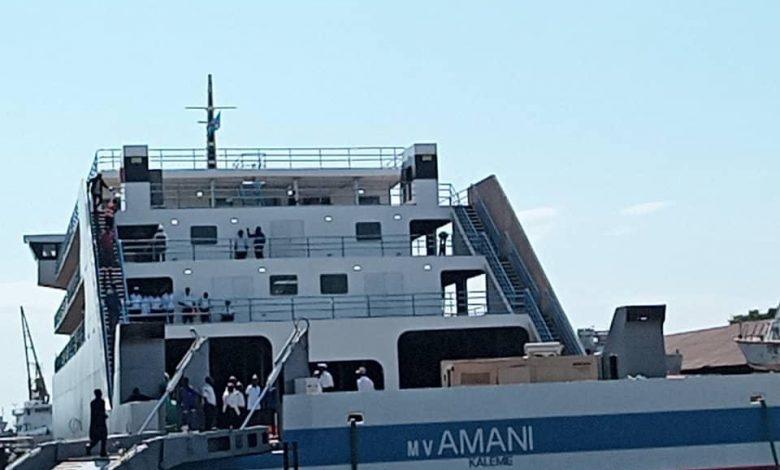 Photo of RDC – Tanzanie : Le MV Amani est arrivé ce dimanche au port tanzanien de Kigoma