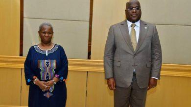Photo of RDC : La nouvelle patronne de la MONUSCO, Bintou Keita, a présenté ses civilités auprès du Président de la Republique