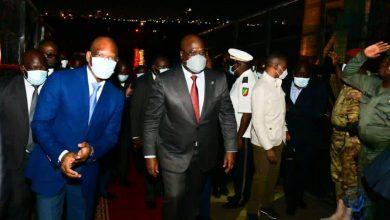 Photo of Félix Tshisekedi assiste à l'investiture de Sassou Nguesso à Brazzaville