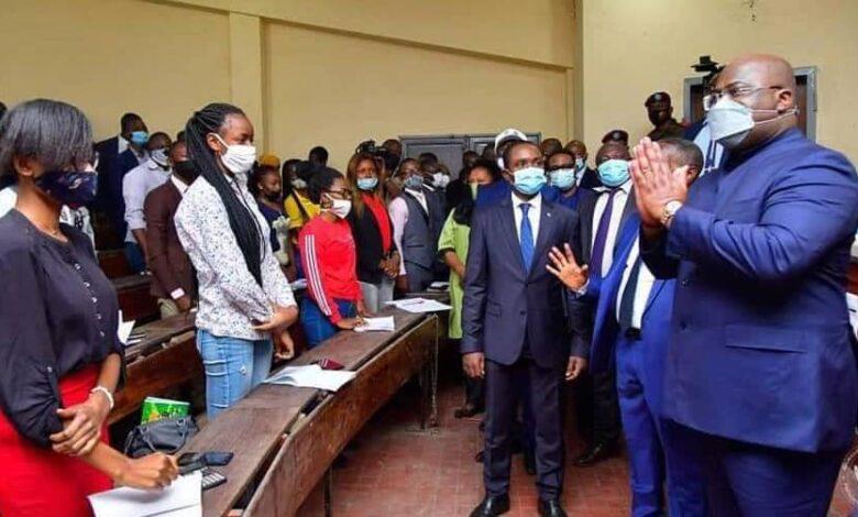 Photo of Kinshasa : Félix Tshisekedi promet la réhabilitation de l'Université pédagogique nationale