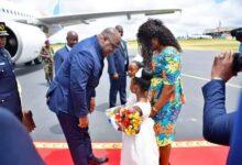 Photo of RDC : Le Président Félix Tshisekedi est arrivé à Lubumbashi
