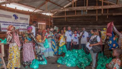 Photo of Goma : L'Ong AIP au secours des sinistrés à Mugunga